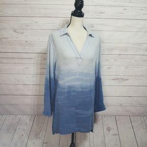 Fresh Produce Dip Dye Long Sleeve Tunic   XS/S